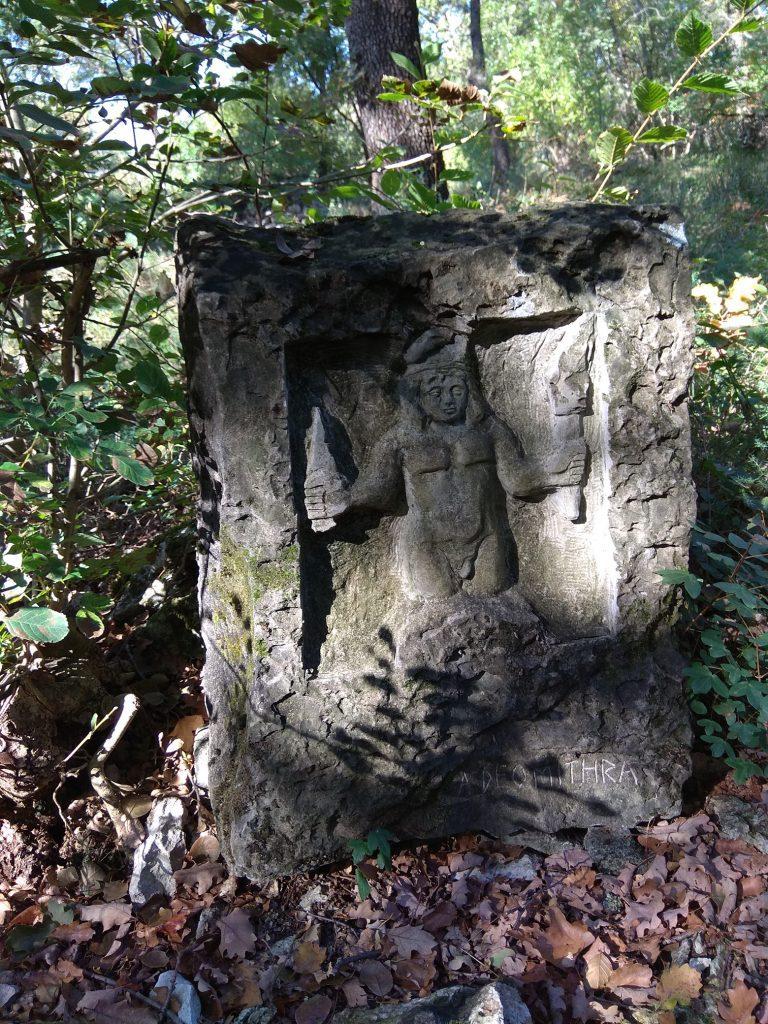 stele del dio Mitra nei pressi di Aurisina