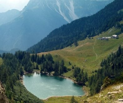 Lago di Bordaglia e Casera Bordaglia di sopra