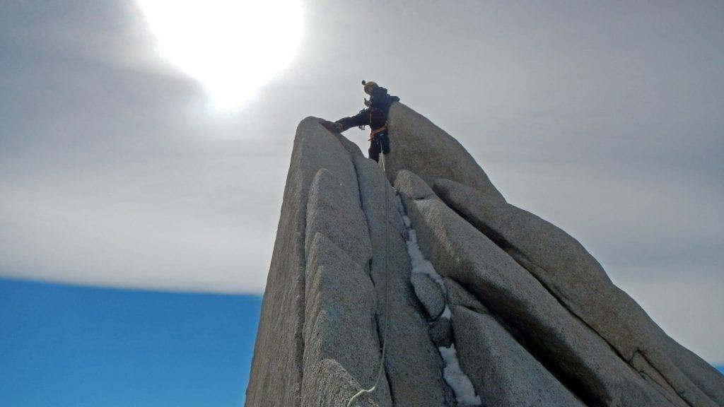 GARS la cima della Agujua Guillaumet