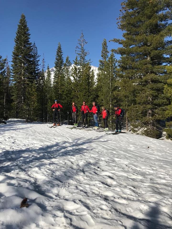 scialp california lassen peak gruppo