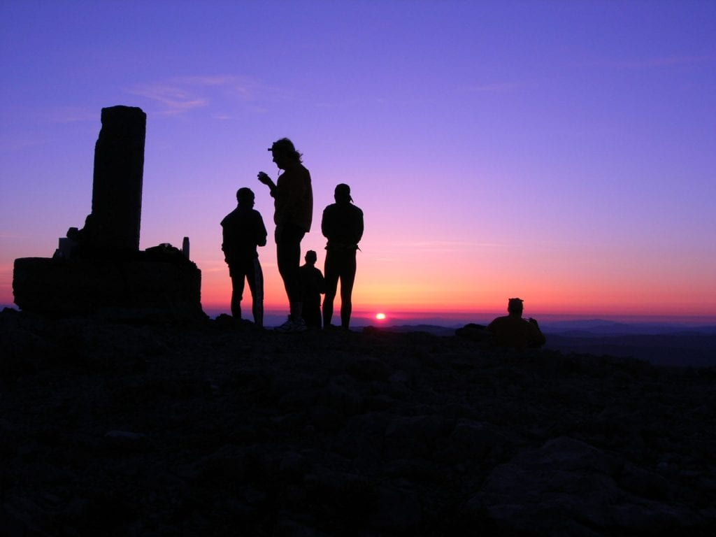 L'alba sulla cima (F.Fabris)