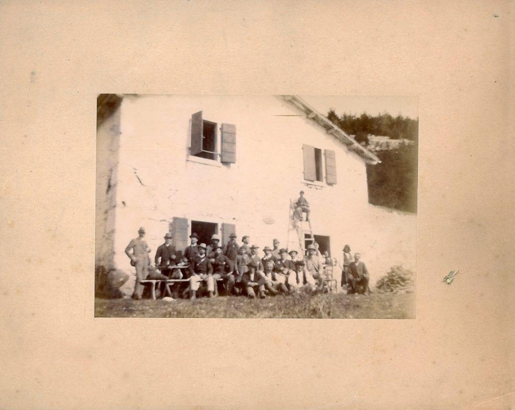22 settembre 1889 - Inaugurazione ricovero sull'Alpe Grande