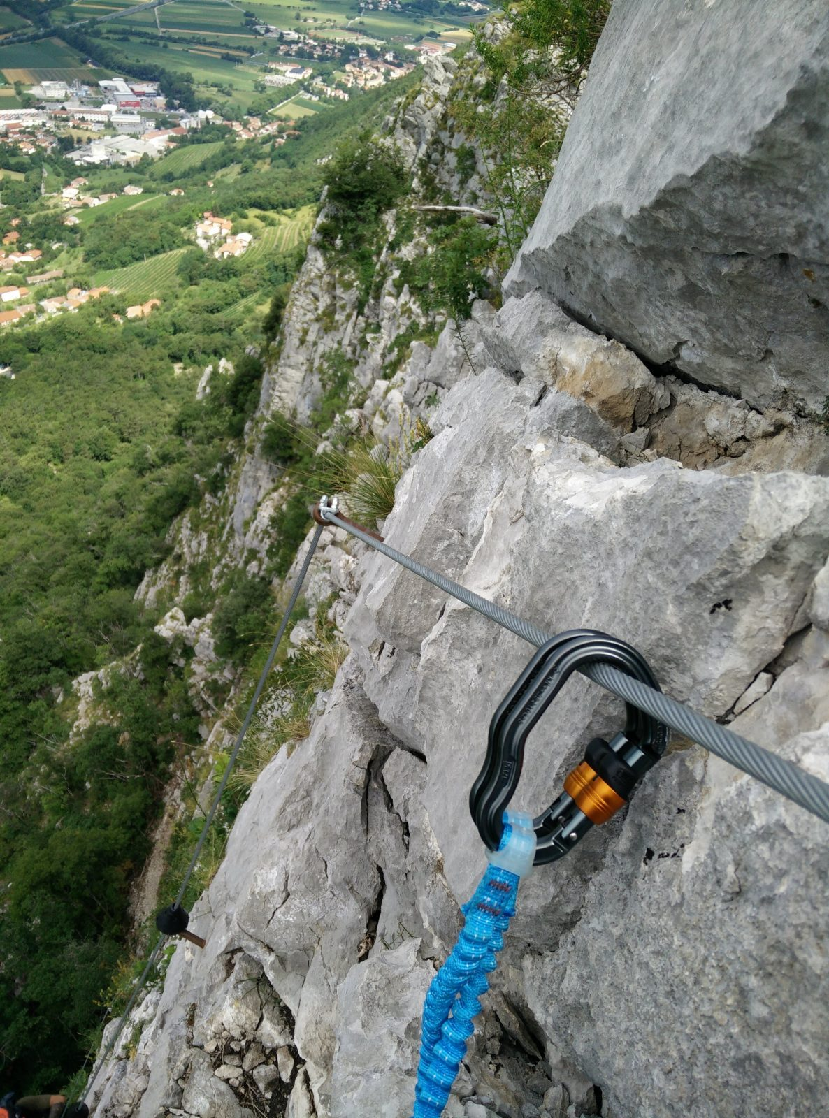 c esc Otmarjeva-Pot-Via-Ferrata-Exposed-terrain