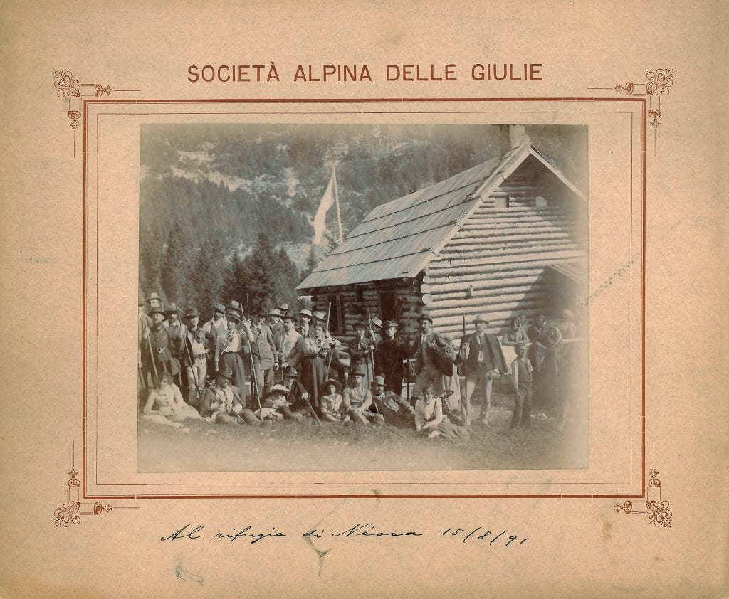 15 agosto 1891 - rifugio Nevea, Canin