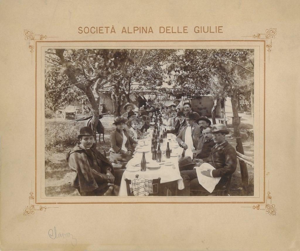 1891 - Convegno S. Pietro di Madresso, ora Clanez
