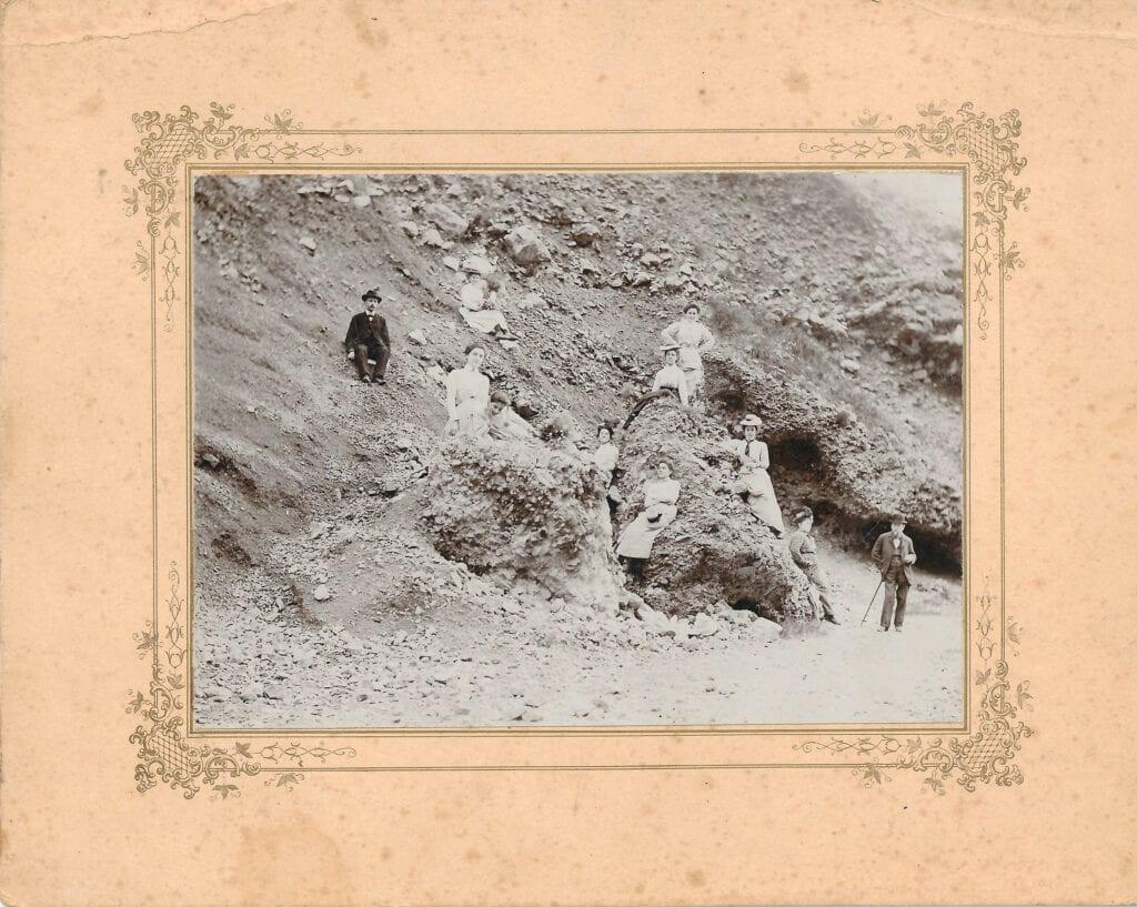 1900 - depositi alluvionali e detritici all'altezza del Rifugio Premuda