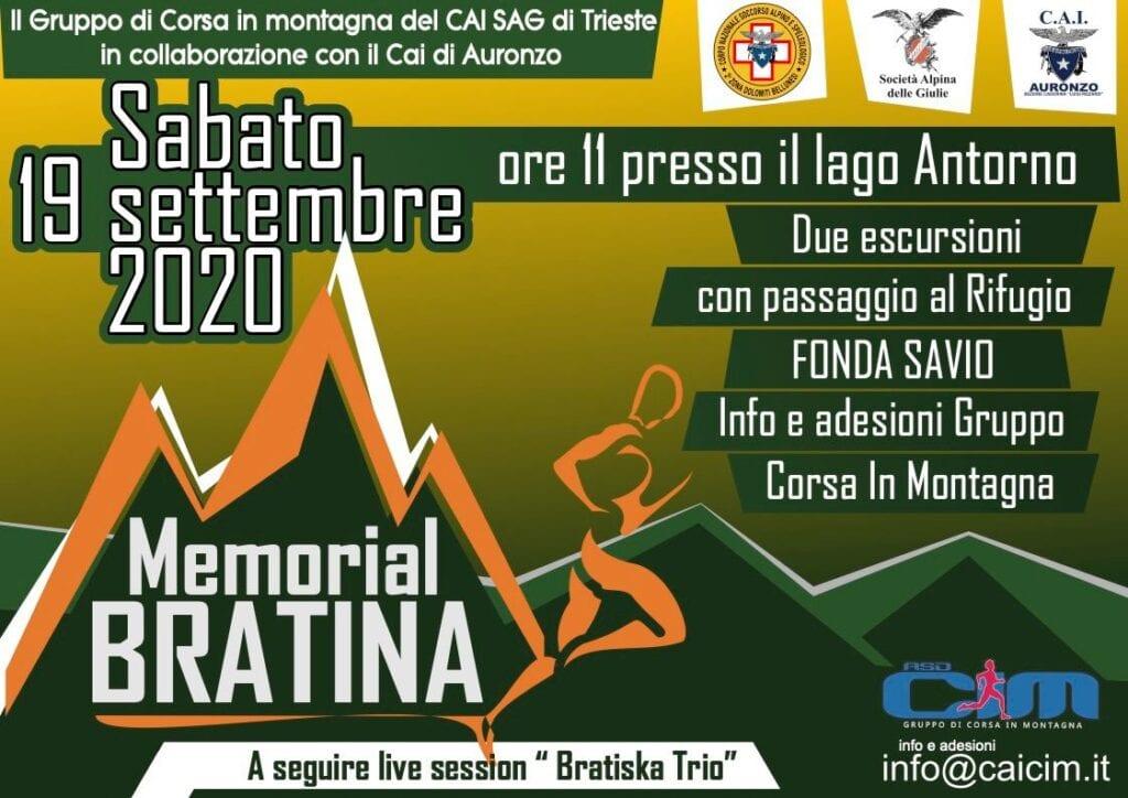 cim locandina memorial bratina 2020