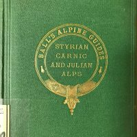 biblio cover ball's alpine guide julian alps