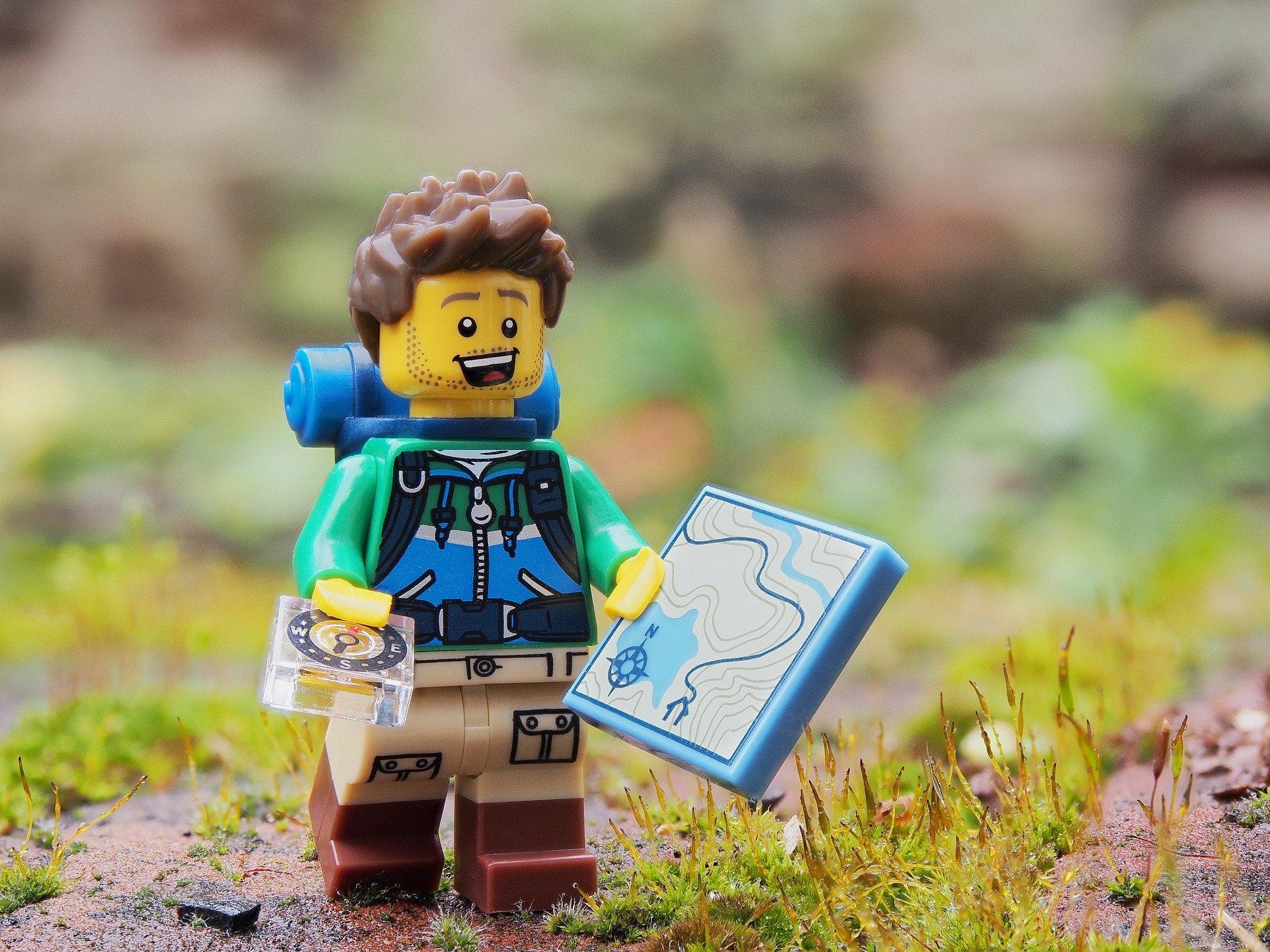 hiker lego
