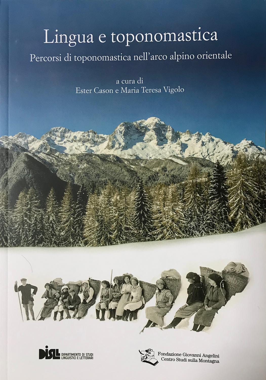 biblio llingua e toponomastica arco alpino est cover